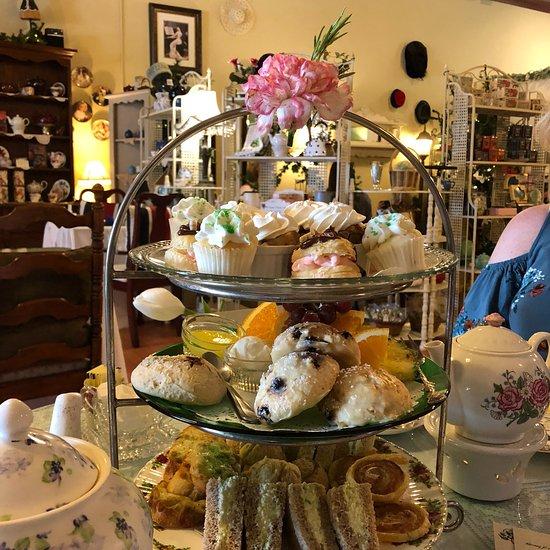 The Aubrey Rose Tea Room La Mesa Restaurant Reviews