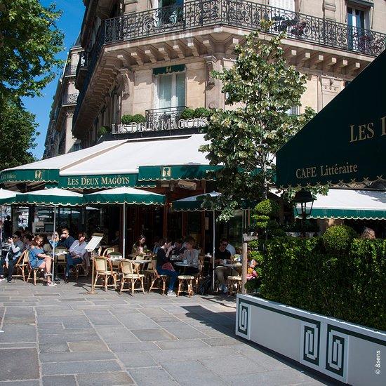 cafe les deux magots paris 6th arr luxembourg restaurant reviews phone number photos. Black Bedroom Furniture Sets. Home Design Ideas