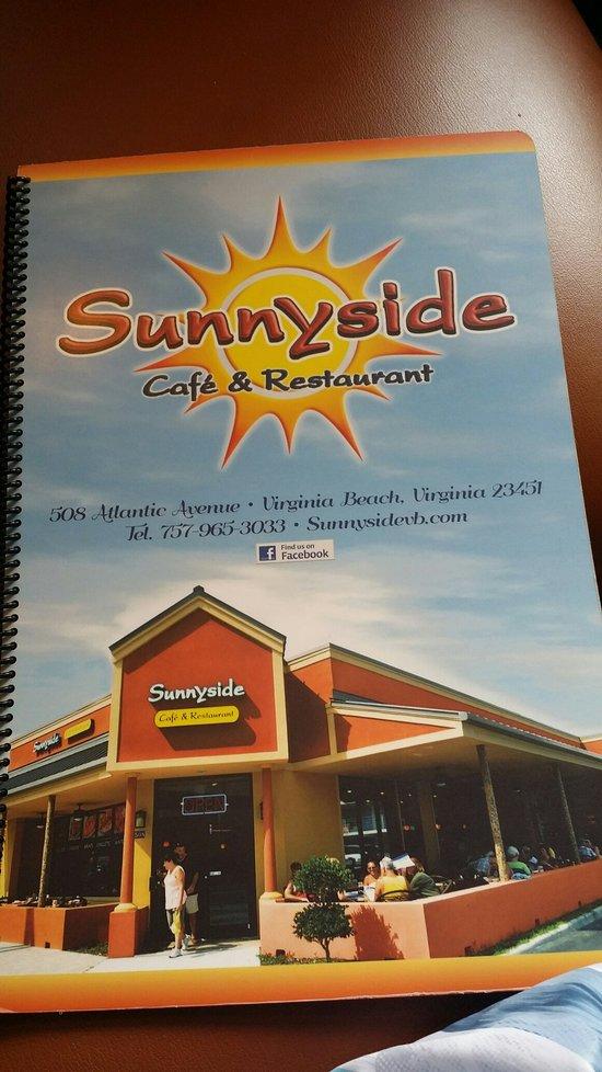 Sunnyside Cafe Virginia Beach Menu
