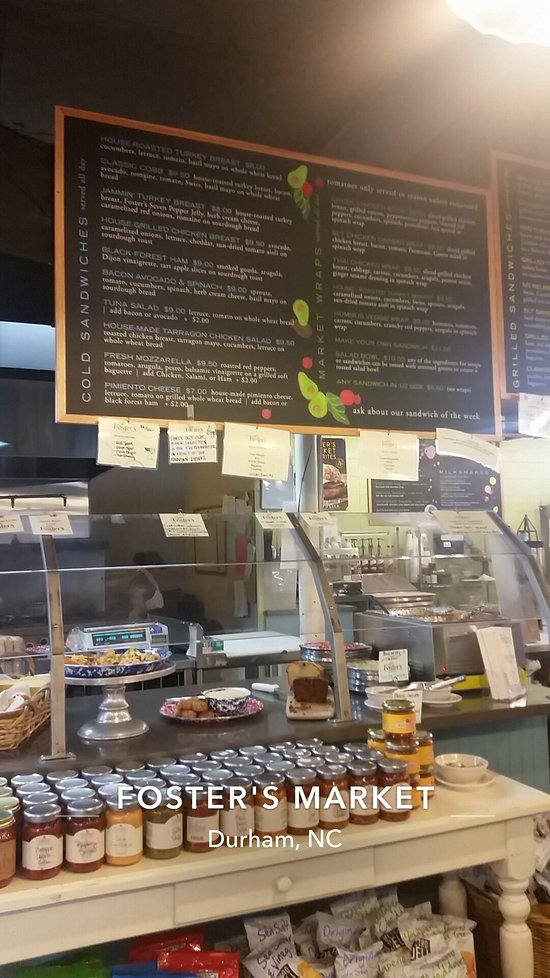Foster S Market Durham Menu Prices Restaurant Reviews