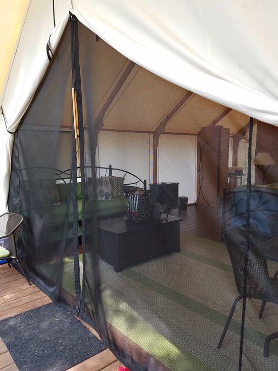 Canvas Tent With Bathroom Ada Picture Of Lakedale Resort At Three Lakes San Juan Island Tripadvisor