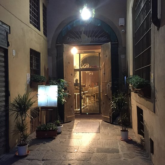 a1edcaecea84 OSTERIA DEL PAVONE, Firenze - Santo Spirito - Ristorante Recensioni ...