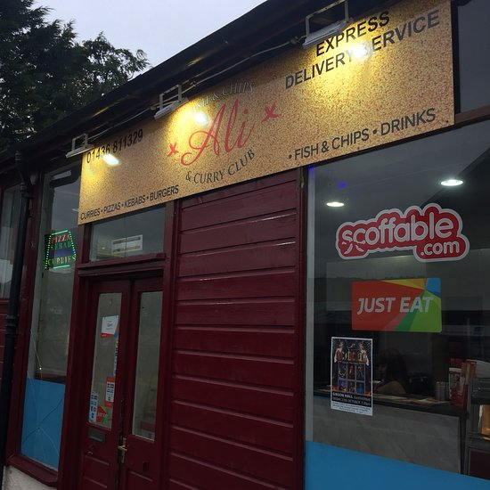 Ali Fish Chips Curry Club Garelochhead Menu Prices
