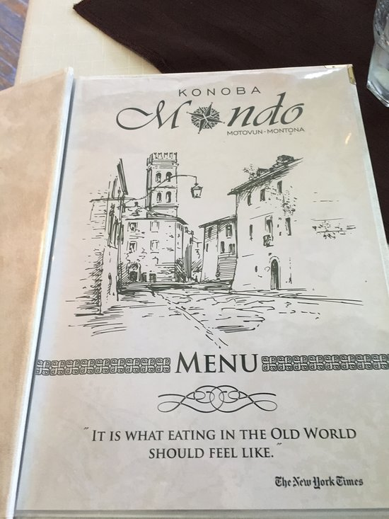 konoba mondo motovun restaurant bewertungen telefonnummer fotos tripadvisor