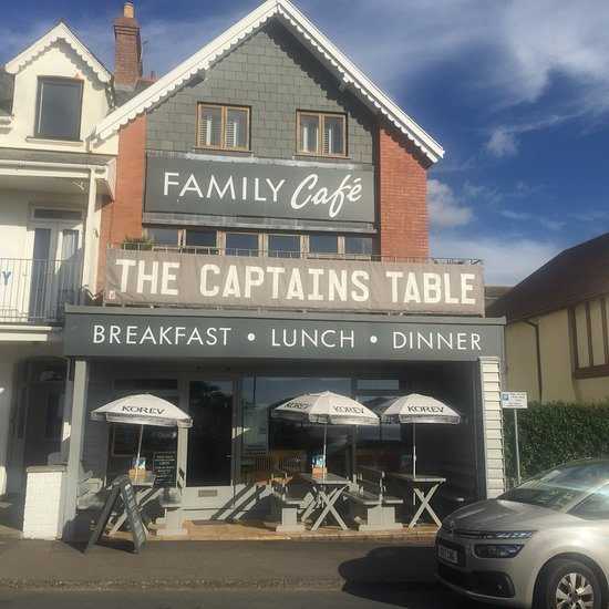 The Captains Table Woolacombe Menu Prices Restaurant