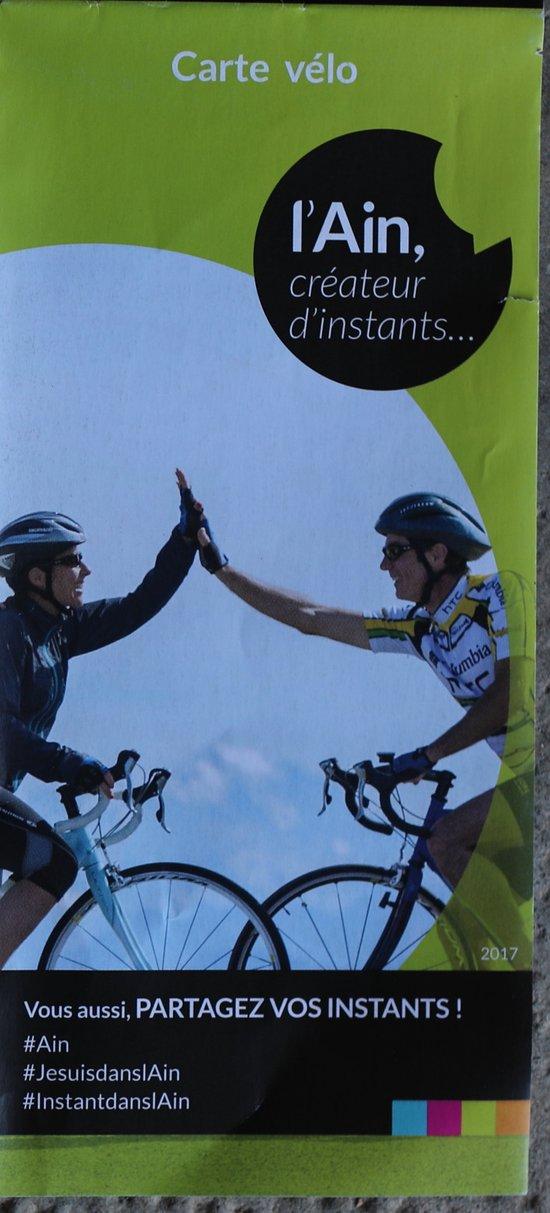 Carte vélo - Circuits VTT dans l'AIN