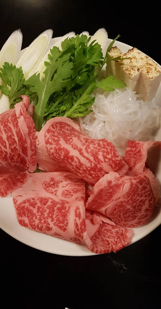 Great place for sukiyaki