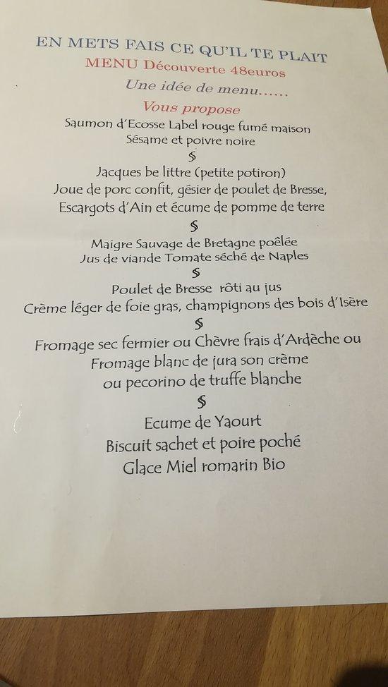 En Mets Fais Ce Qu Il Te Plait Lyon Restaurantbeoordelingen