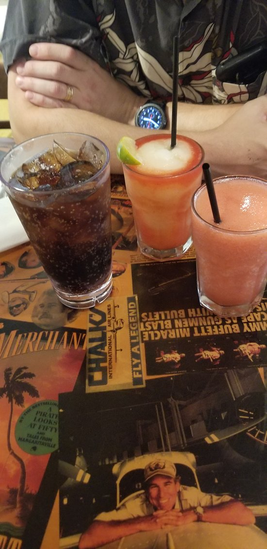 Our drinks, nothing special, but ok.