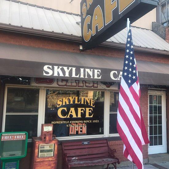 the skyline cafe mena restaurant reviews phone number photos tripadvisor. Black Bedroom Furniture Sets. Home Design Ideas
