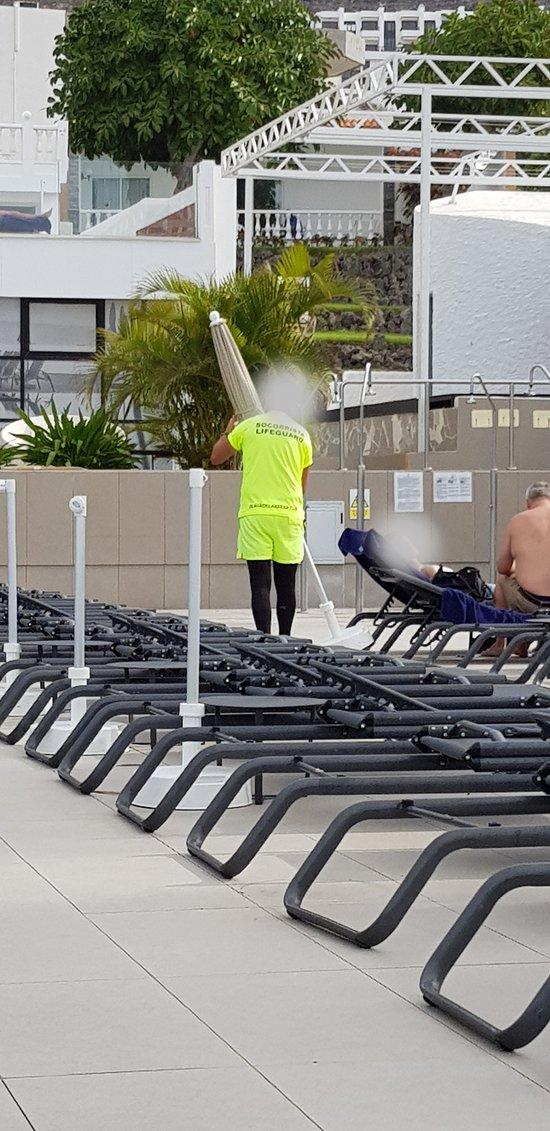 The life guard not just saving lives!