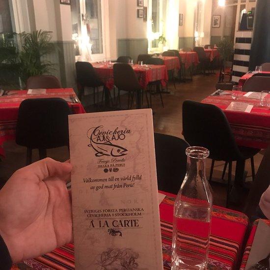 colombiansk mat stockholm