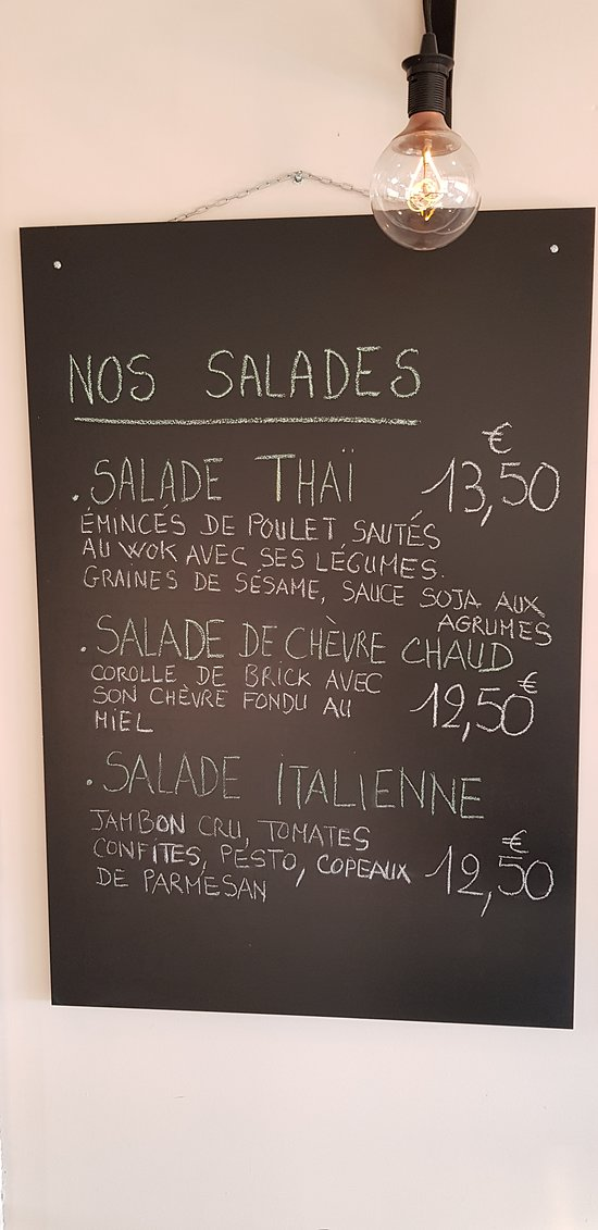 Nos Salades..... La Thaï est un incontournable !