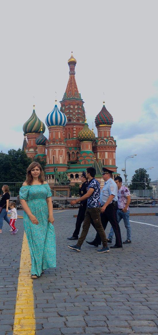 Per fare vedere a tutti che sei stato a Mosca