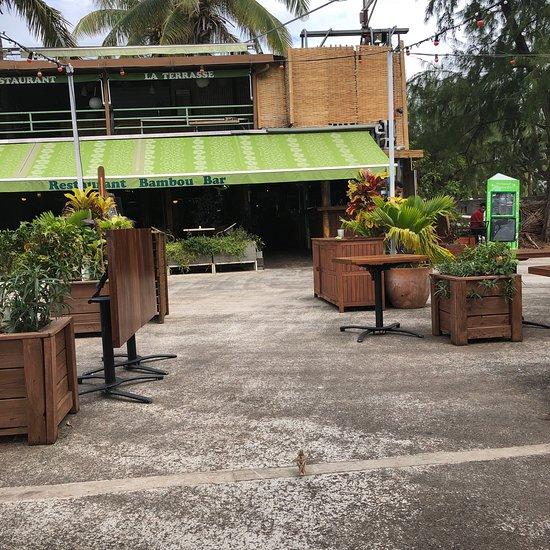 bambou bar restaurant saint gilles les bains coment rios de restaurantes tripadvisor. Black Bedroom Furniture Sets. Home Design Ideas