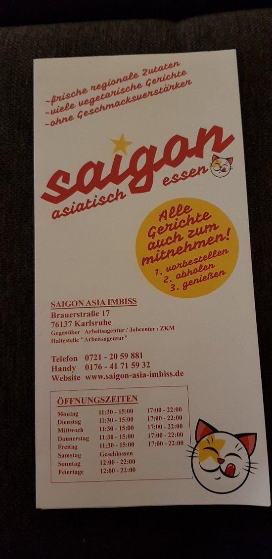 Saigon Restaurant Karlsruhe Restaurant Bewertungen Telefonnummer