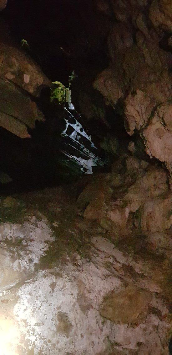 Caverna incrível, com muitas formações, estalactites e estalagmites. Trecho longo, fácil se perder, rs.  Cada caverna do PETAR é maravilhosa. Todas elas são diferentes e únicas! Vale a pena conhecer todas.