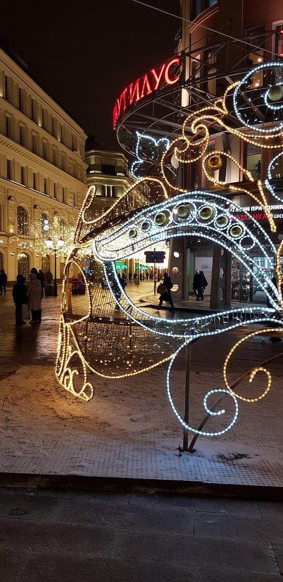 Москва, Никольская улица (24 января 2019 года)