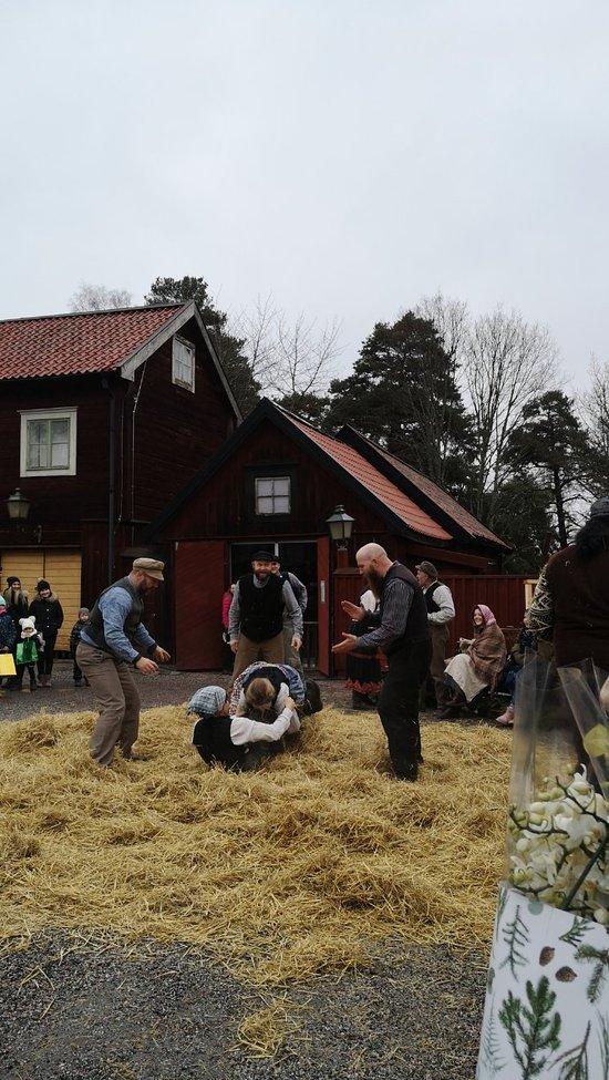 Vinterfest p Stora torget, ett nytt evenemang i Sdertlje