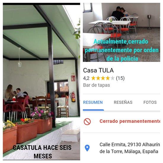 Casa Tula Alhaurín De La Torre Fotos Número De Teléfono Y Restaurante Opiniones Tripadvisor