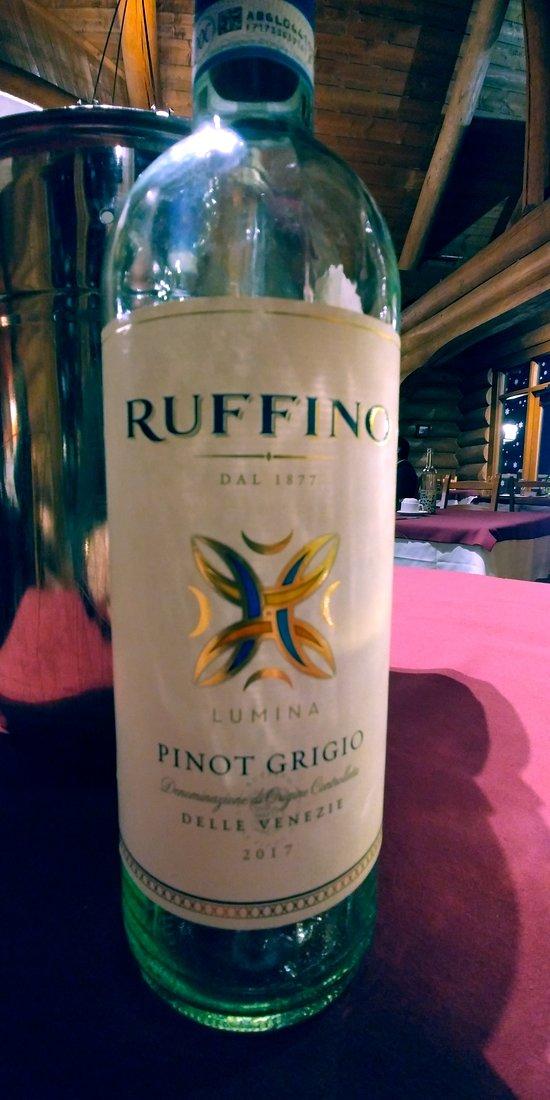 Italian Ruffino Pinot Grigio
