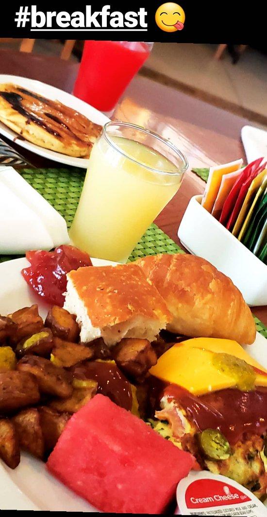 A lovely buffet breakfast