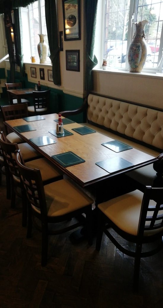 Got our upholstery polished up and some new furniture in the restaurant as wel.