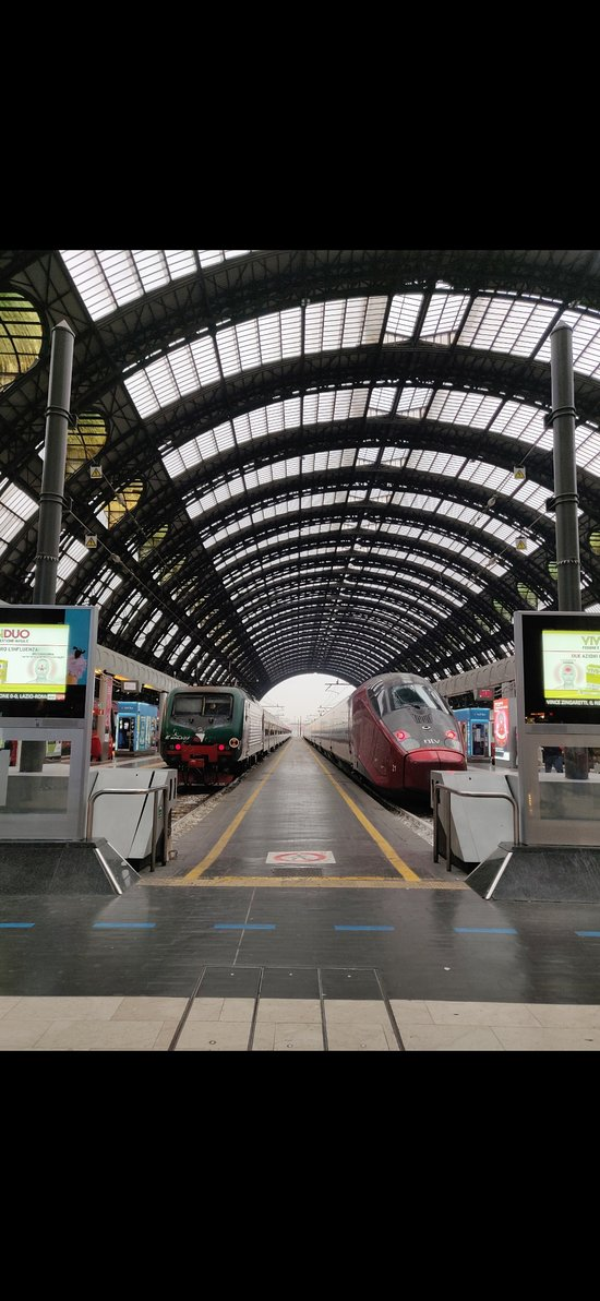 The main train station of Milan