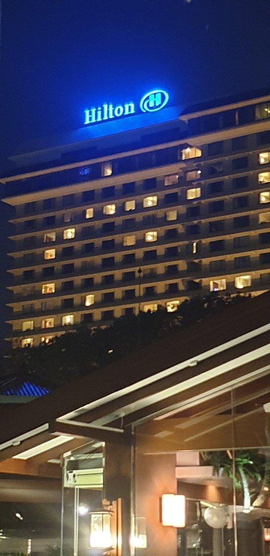 Italian restaurant in Hilton hotel colombo