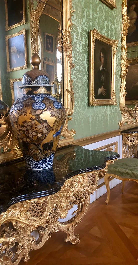 One of the wonderful show rooms in the Residenz of Munich