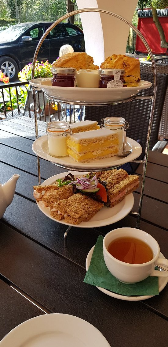 What an amazing afternoon tea plenty of choose from to cater for your favourite sandwich and cake . Freshly cooked scones staff very helpful