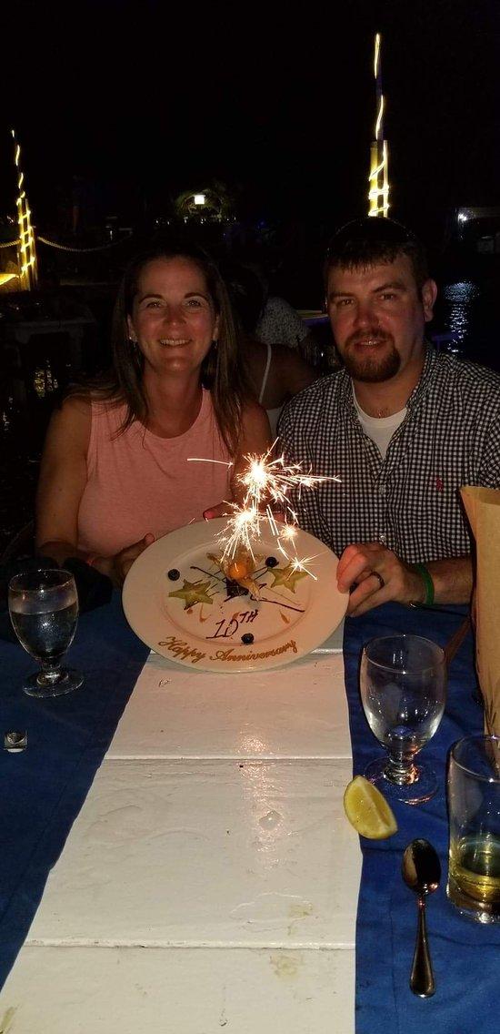 10th Anniversary dinner