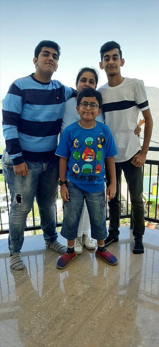 Massouri trip with family