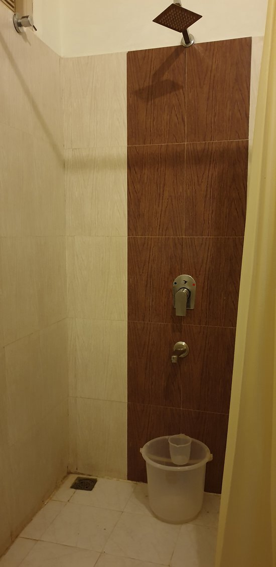 Shower in the washroom of your room