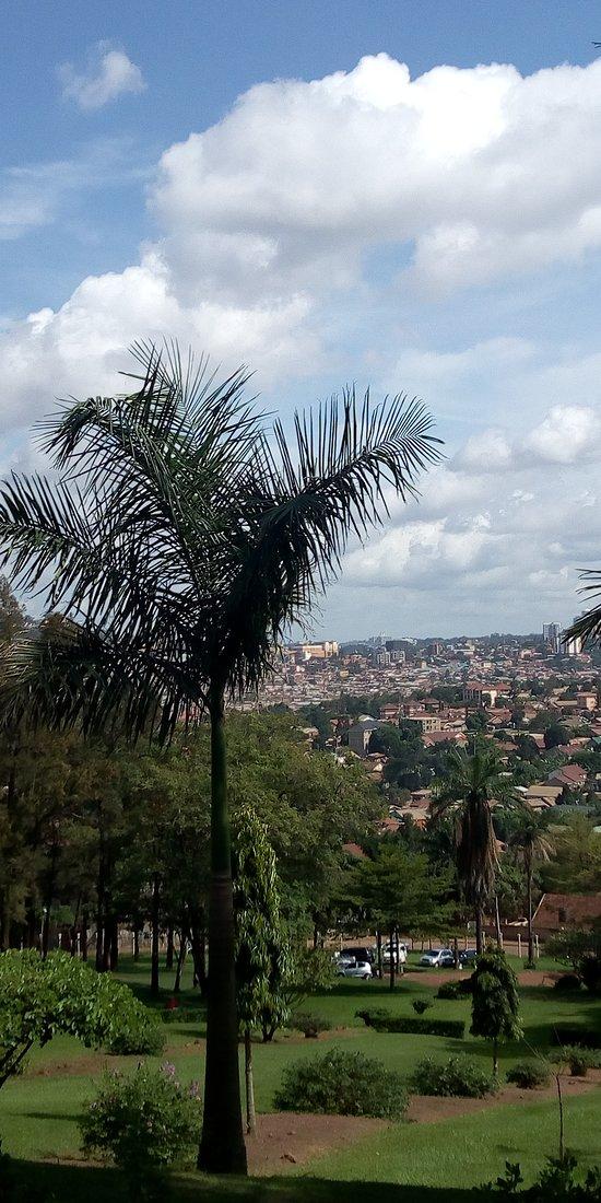A sneak pic of Kampala