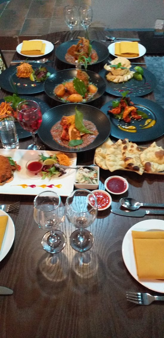 Patiala all of exclusive starters and main dishes.