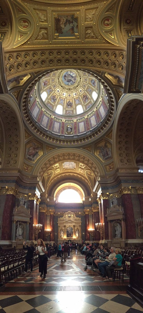St. Stephen's Basilica (Szent Istvan Bazilika)