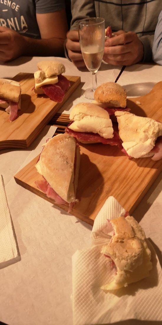 Sandes presunto e queijo