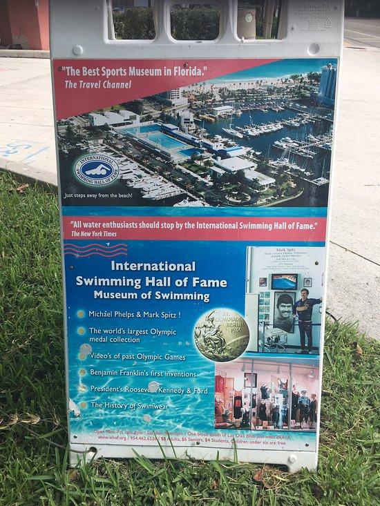 International Swimming Hall Of Fame Lapel Pin Vintage Fort Lauderdale Florida