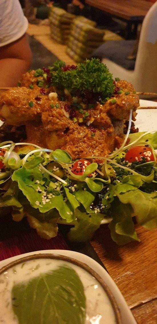 Big portion and unique food