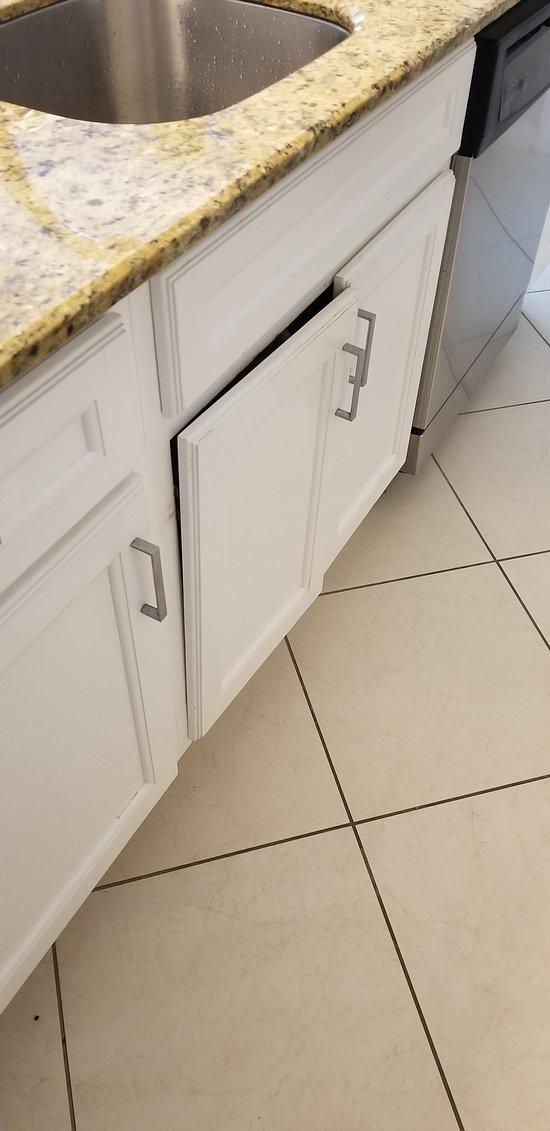 Loose cabinet door 2