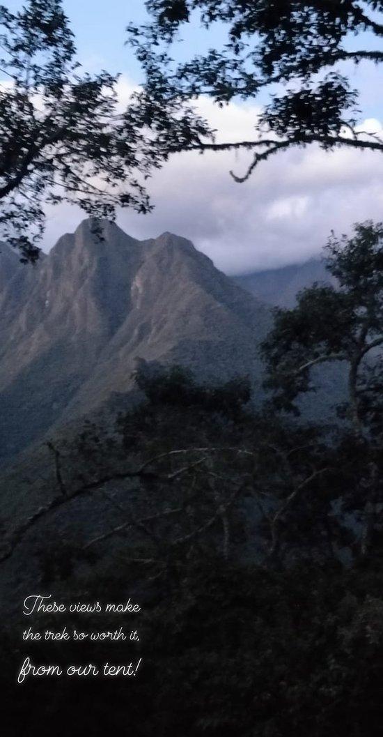 Fantastic trek to Macchu Picchu!