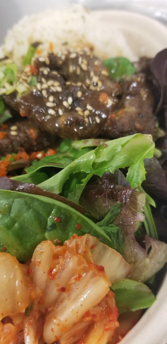 my kalbi from kojo kitchen. pretty good.