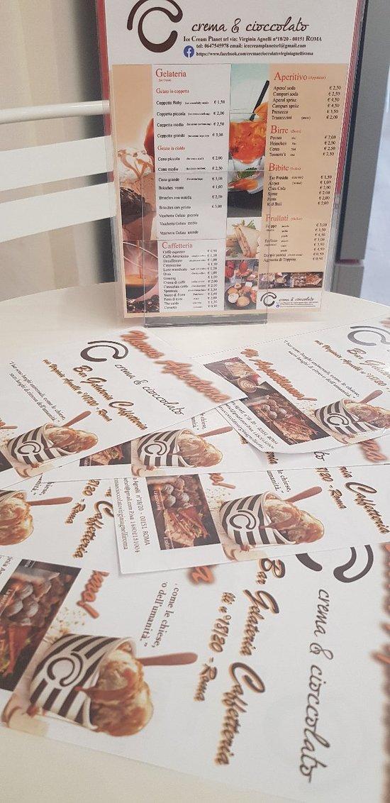 Bar Caffetteria Gelateria Crema e cioccolato