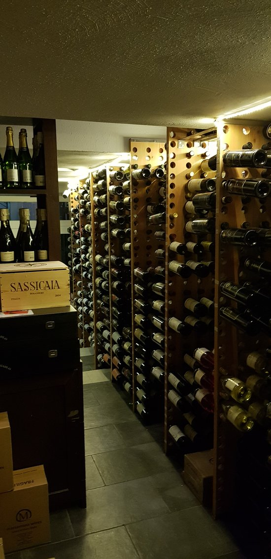 You can also visit the cellar