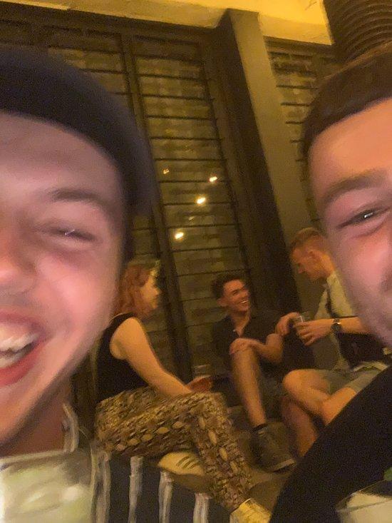 Selfie dużych kogutów