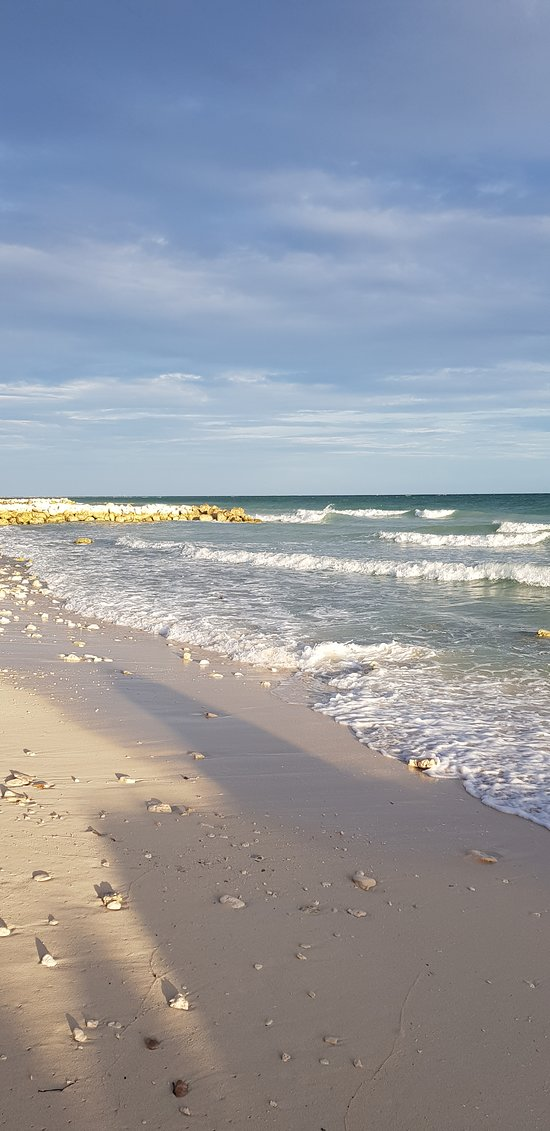Beach located 5 minutes away. 15 minutes walking distance