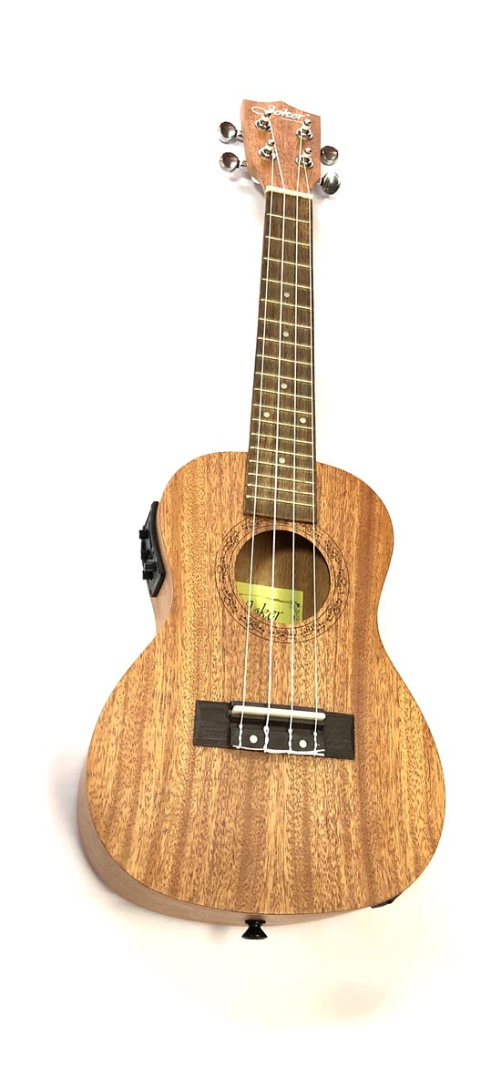 "Joker Concert 24""Ukulele-Tunner-Equalizer Tunner-Equalizer Satin finish Africa mahogany body and neck, rosewood fingerboard, arched back to provides a longer sustain & fuller sound https://musicgallery.com.np/product/joker-concert-24ukulele-tunner-equalizer/"