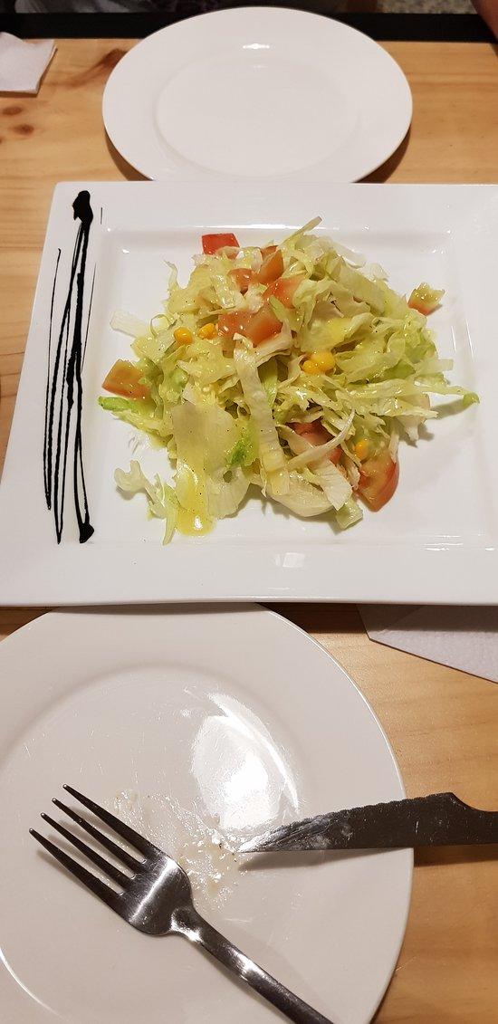 ensaladas frescas del dia