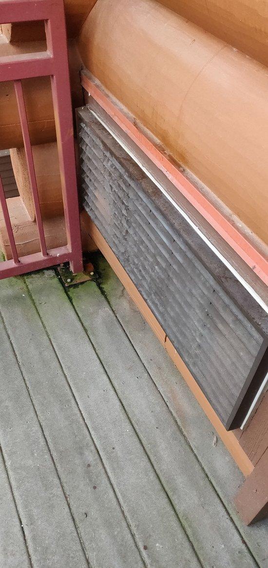 Disgusting balcony